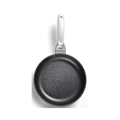 RISOLÌ Padella 1 Manico Alta Antiaderente ad Induzione 24 cm - Linea Granito Premium Induction