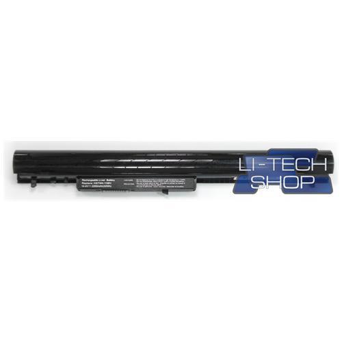 LI-TECH Batteria Notebook compatibile nero per HP COMPAQ 0AO4 14.4V 14.8V pila 2.2Ah