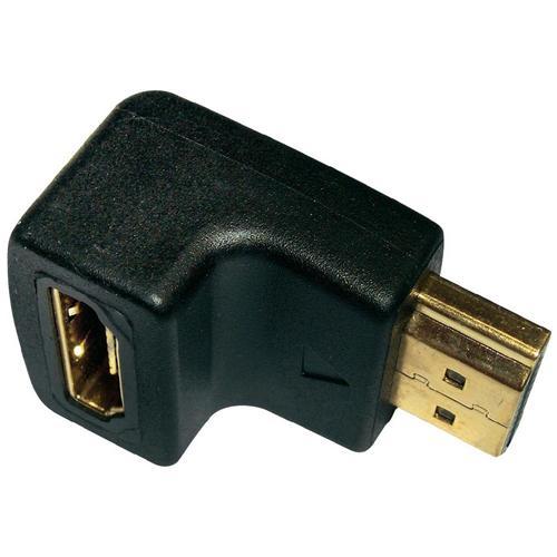 In - Akustik Adattatore HDMI a HDMI Maschio / Femmina Colore Nero