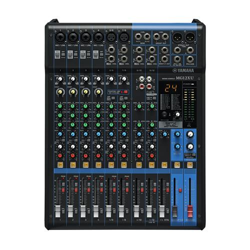YAMAHA Mixer Analogico MG12XU 12Can. 4Mic12Lin. E