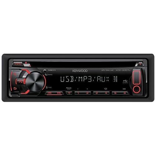KENWOOD Sintolettore CD KDC-3057UR MP3 WMA ACC Potenza 4 x 50 Watt porta USB e ingresso Aux