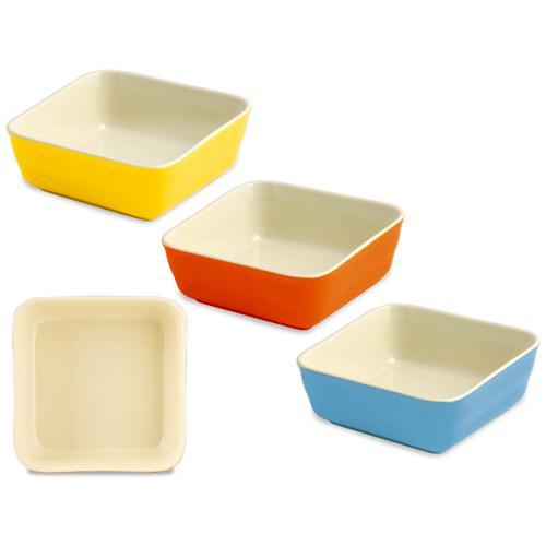 HOME Pirofila Forno Color Quadrato 15 Strumenti Da Cucina