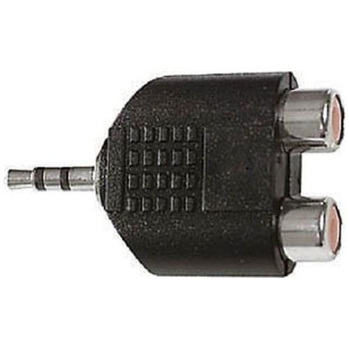 Elcart  (4/47800) Adattatore Da Spina Jack 3,5 Stereo A 2 Prese Rca
