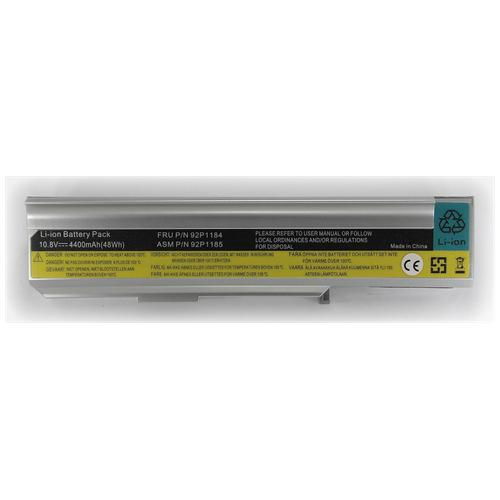 LI-TECH Batteria Notebook compatibile per IBM LENOVO ESSENTIAL 3000 15.4 POLLICI N100076822U 48Wh