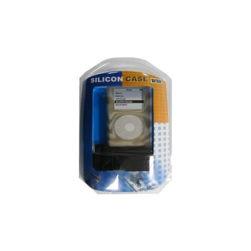 MANHATTAN Cinturino in Silicone per iPod Classic - Nero / Bianco