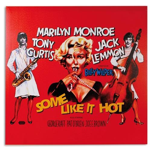 Homania Quadro Poster Di Cinema Marilyn Monroe Some Like It Hot 60 X 60