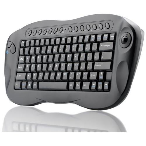 Hitechcommerce HTSB-K143 Tastiera Wireless conTrackball