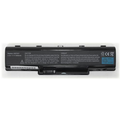 LI-TECH Batteria Notebook compatibile 5200mAh per ACER ASPIRE AS-2930844G32MN nero