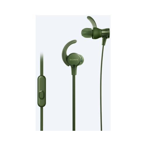 SONY MDR-XB510AS Auricolare Stereofonico Cablato Verde auricolare per telefono cellulare