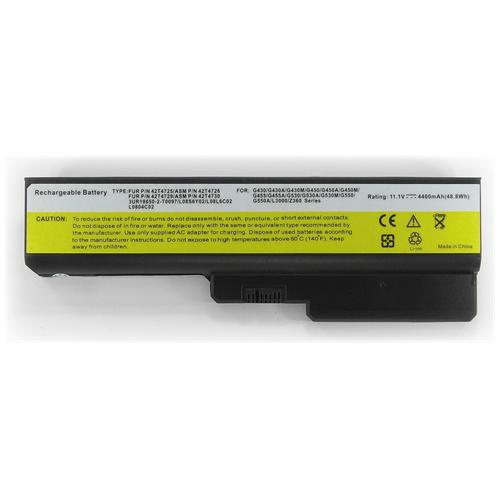 LI-TECH Batteria Notebook compatibile per IBM LENOVO ESSENTIAL IDEAPAD G430415278Q nero pila 48Wh