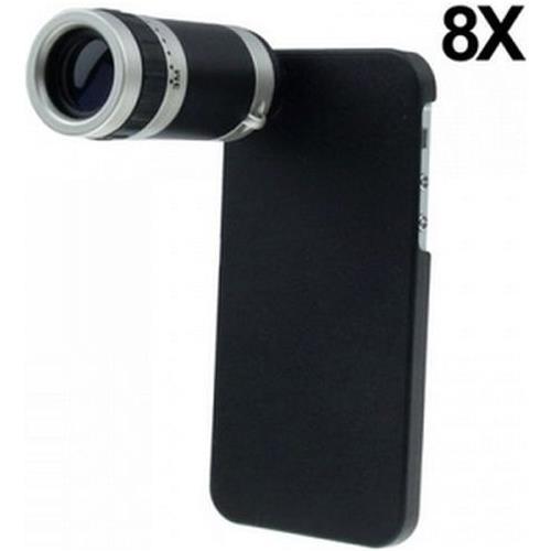 NetworkShop Obiettivo Fotocamera Zoom 8x Con Case In Plastica Per Iphone 5