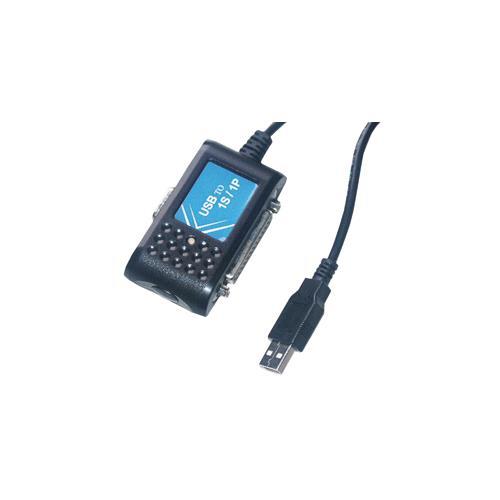 MCL Convertisseur USB Serie (DB09) / Parallele (DB25) USB DB09 / DB25 Nero cavo di interfaccia e adattatore