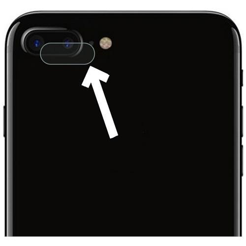 NetworkShop Pellicola Protezione In Plastica Per Fotocamera Posteriore Iphone 7 Plus