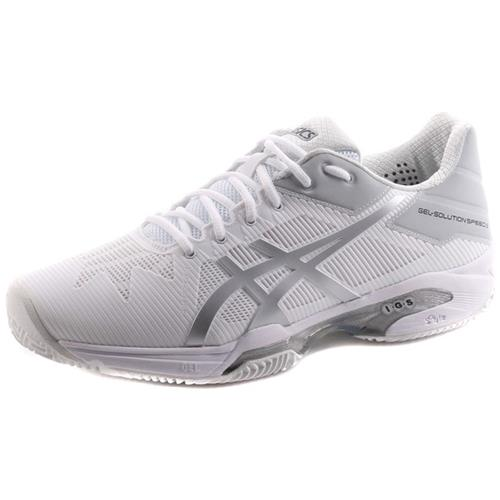 Asics Gelsolution Speed 3 Clay 0193 E601N0193 bianco scarpe basse