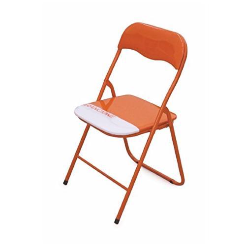 GALILEO CASA - Sedia Pieghevole Colore Arancione in Metallo ...