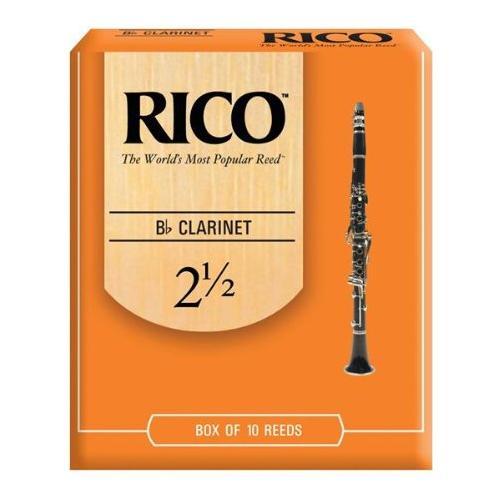Rico Ance per Clarinetto in SibForza 2.5Confezione da 10 Pz