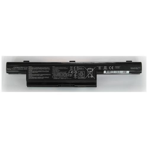 LI-TECH Batteria Notebook compatibile 5200mAh per ASUS K93SVYZ080V 10.8V 11.1V 6 celle pila
