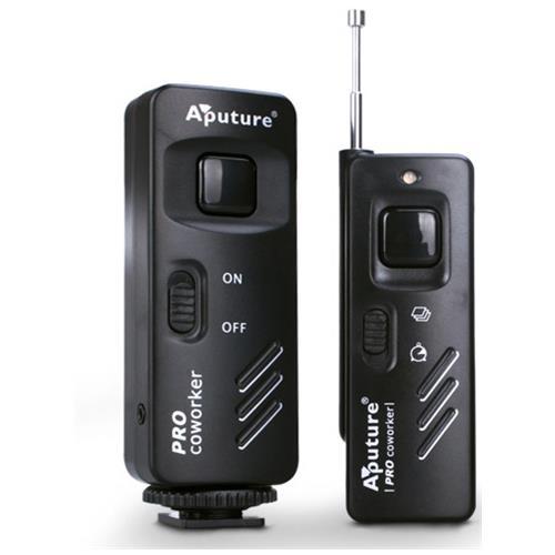 Aputure Pro Coworker Remote Shutter, Nero, Fotocamera