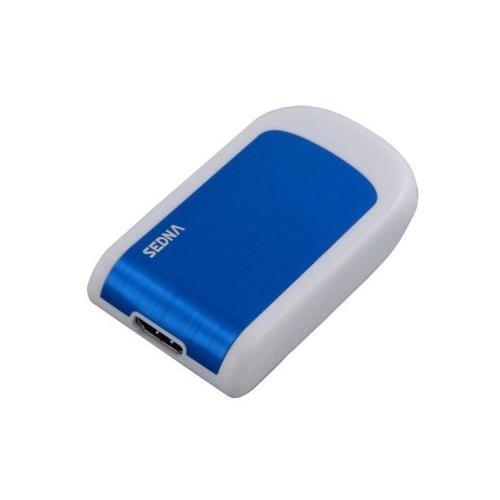 Sedna SE-USB3-HDMI-33, USB 3.0, HDMI, Blu, Bianco, 2048 x 1152 Pixels, USB