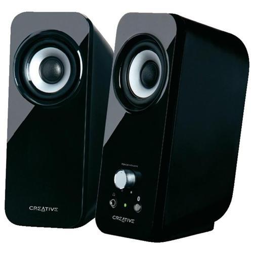 CREATIVE LABS Altoparlanti Bluetooth Stereo T12 - Colore nero