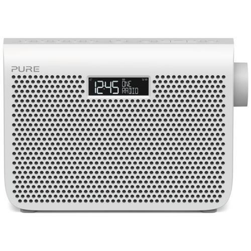 Pure One Midi Series 3 Radio Portatile Digitale DAB / DAB+ e FM Colore Bianco