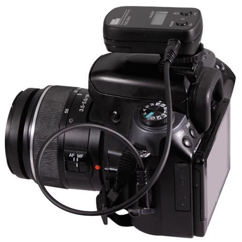 Pixel TW-282 / N3, Cablato, Nero, Fotocamera, Pulsanti, LCD, 100m