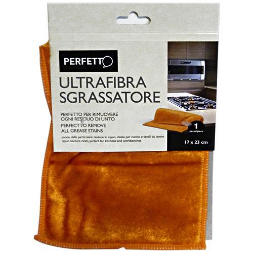 Perfetto Panno Sgrassatore Ultrafibra 17x23 Cm0319b Attrezzi Pulizie