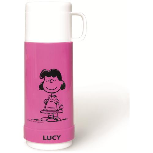 EXCELSA Termos Peanuts Lucy lt. 0,5 fucsia.