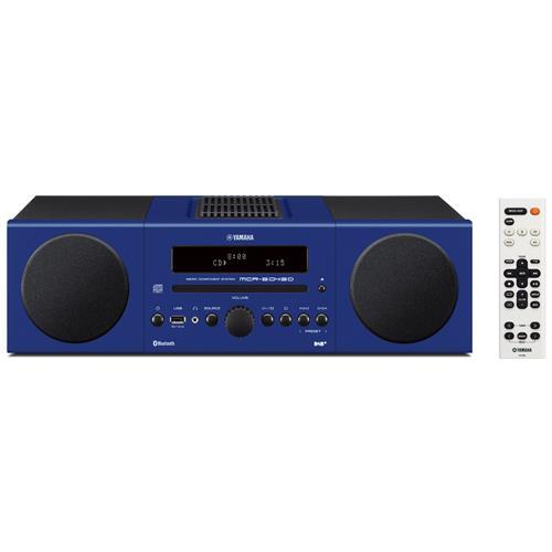 YAMAHA Sistema Micro Hi-Fi MCR-B043 DAB / DAB+ Lettore CD Supporto MP3 / WMA Potenza Totale 30Watt Bluetooth USB colore Blu