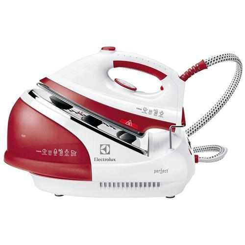 ELECTROLUX EDBS2300 Ferro da Stiro con Caldaia Continua Potenza 2300 Watt Colore Bianco / Rosso