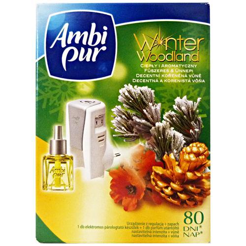 Ambi Pur Casa Base+ricarica Winter Woodland Deodorante Candele E Profumatori