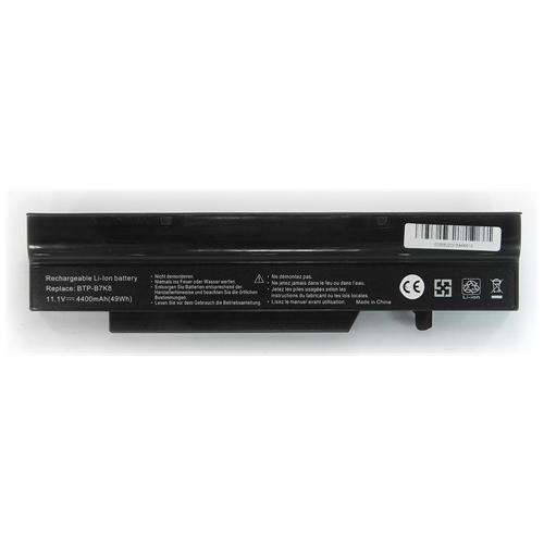 LI-TECH Batteria Notebook compatibile per FUJITSU BTP-C3KB 10.8V 11.1V nero 4.4Ah