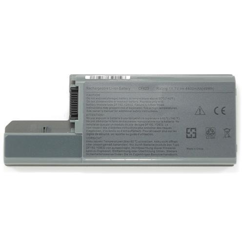 LI-TECH Batteria Notebook compatibile per DELL CF704 10.8V 11.1V SILVER ARGENTO pila 4.4Ah