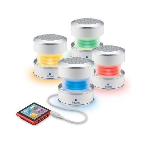 IHOME IHM61 Mini Speaker Ricaricabile LED Multicolore