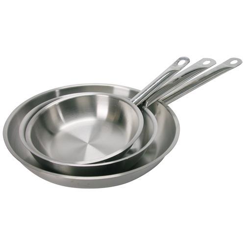 Pardini Padella Inox Albergo Un Manico Cm32 Pentole Cucina