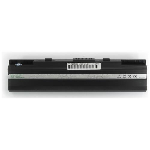 LI-TECH Batteria Notebook compatibile per ASUS EEEPC EEE PC EEPC 1201HABLK023M 6 celle nero 4.4Ah