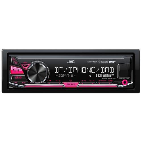 JVC KD-X441DBT Bluetooth Nero autoradio