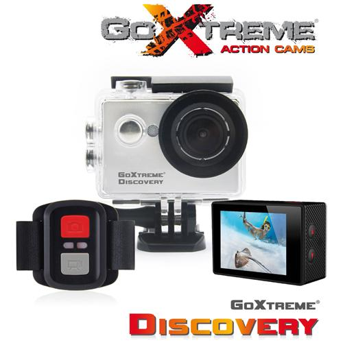 """EASYPIX Action Camera GoXtreme Discovery 2.0 """" Full HD 4K 5MP"""