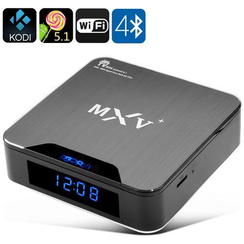 Android TV Box / Stick Di Android 5.1 Tv Box - Wi-fi, Bluetooth 4.0, H. 265 Decodifica, Hdmi 2.0, Kodi Supporto
