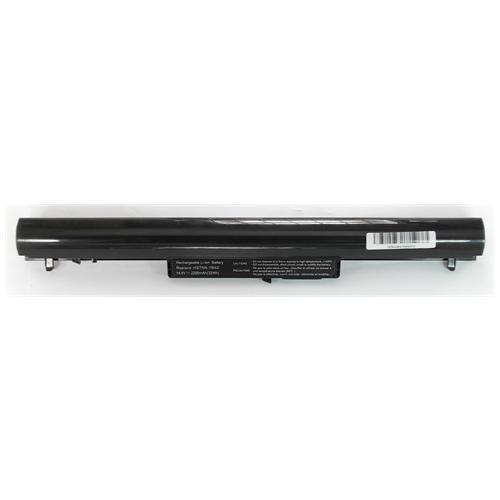 LI-TECH Batteria Notebook compatibile per HP PAVILLION SLEEK BOOK 14-B100EK 14.4V 14.8V nero pila