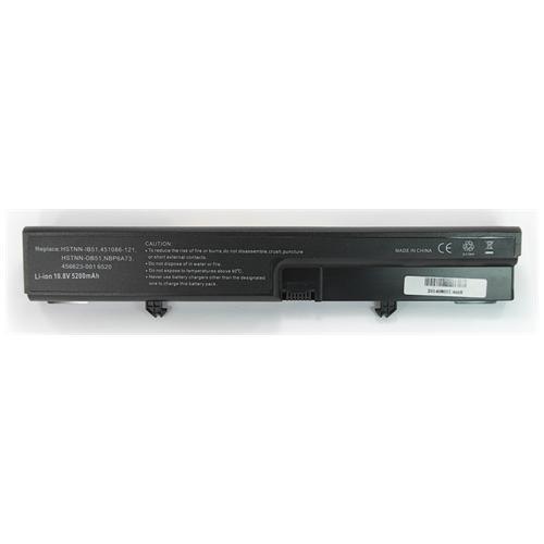 LI-TECH Batteria Notebook compatibile 5200mAh per HP COMPAQ 451545-26I computer pila 5.2Ah
