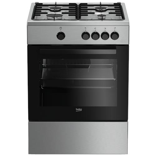 BEKO - Cucina A Gas FSG62000DX A Libera Installazione 4 Fuochi ...