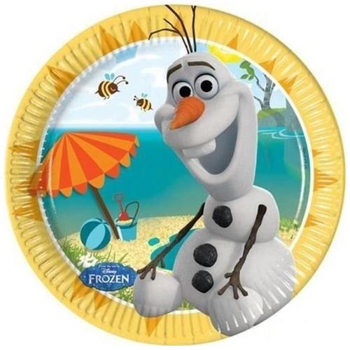 COMO GIOCHI Frozen - Olaf - 8 Piatti 20 Cm