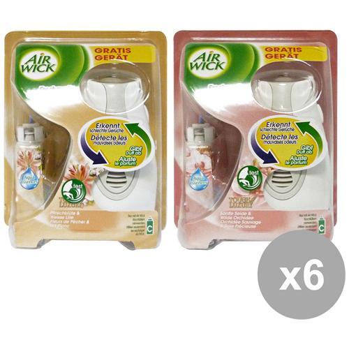 Air Wick Set 6 Freshmatic Max Odor-control Base Misto Deodorante Candele E Profumato