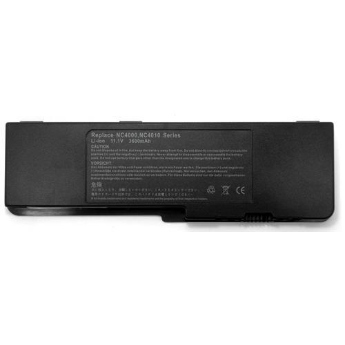 LI-TECH Batteria Notebook compatibile 3600mAh per HP COMPAQ NC4010-DS613AV 10.8V 11.1V pila