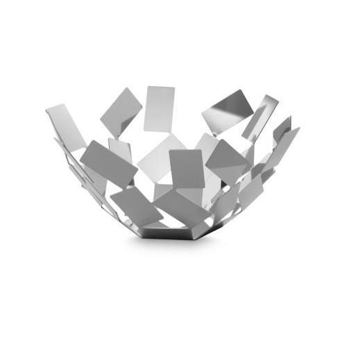 Alessi Fruttiera La Stanza dello Scirocco 27 cm rotonda colore bianco
