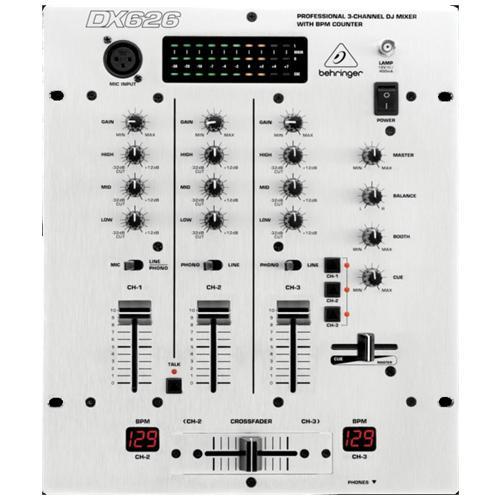 BEHRINGER Bh Dx626 Mixer Per Dj 3ch
