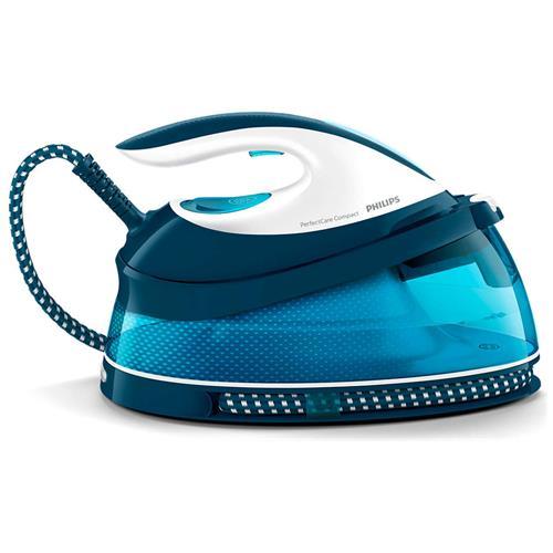 PHILIPS Ferro da Stiro con Caldia GC7801/20 Potenza 2400 Watt Colore Blu