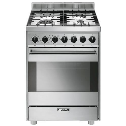 SMEG - Cucina Elettrica B6GMXI9 4 Fuochi a Gas Forno Elettrico ...