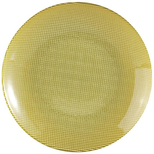 EXCELSA Piatto Frutta Diamond verde centimetri 20